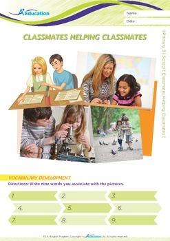 School - Classmates Helping Classmates - Grade 3