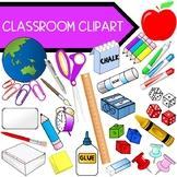 School Classroom Clipart Bundle