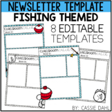 Fishing Classroom Newsletter