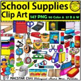 School Classroom Supplies  Clip Art