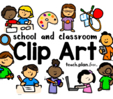 School and Classroom Clip Art Collection