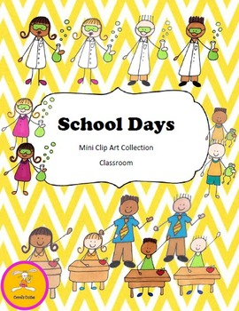School Clip Art - Mini Collection