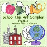Free School Realistic Clip Art
