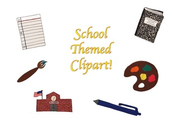 School Themed ClipArt