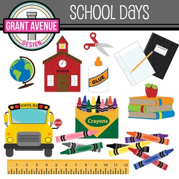 School Clipart - Back to School Clipart