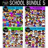 School Clipart Bundle 5 {Creative Clips Clipart}