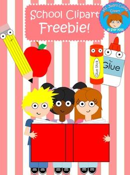 School Clipart FREEBIE!
