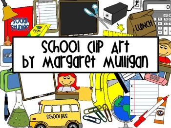 School Clipart - Over 100 Items!