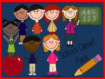 School Clipart Pack