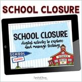 School Closing Digital Activity for Google Slides