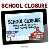 School Closing Digital Activity for Google Slides