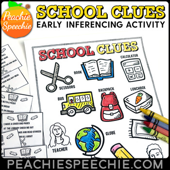 School Clues Early Inferencing Activity