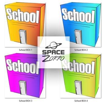School Color Box images
