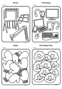 School Coloring Pages: Holidays, Celebrations, Fine Arts & Seasons