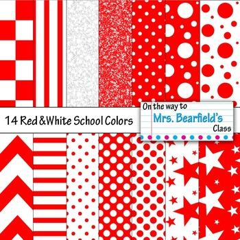School Colors: Red and White