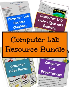 School Computer Lab Resources - Super Bundle