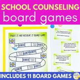 School Counseling Board Game BUNDLE