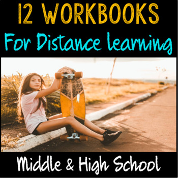 School Counseling- Workbooks for Teens- Anxiety, College & Career, Online Safety