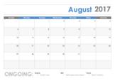 School Counseling Calendar