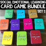 School Counseling Card Game Bundle *Coping Skills, Self-Esteem, Growth Mindset