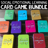 School Counseling Card Game Bundle *Coping Skills, Self-Esteem, Growth Mindset