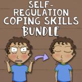 Self-Regulation Coping Skills Bundle: Calm Corner, SEL Lessons, Games & Decor