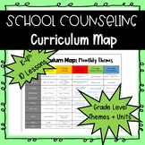 School Counseling Curriculum Map (10 lessons)