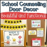 School Counseling Door Decor and Self-Referral System