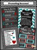 National School Counseling Week Teal & Red Printable Poste