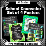 Green Blue Yellow Counseling Office Decor, Counselor Door Sign NOT EDITABLE