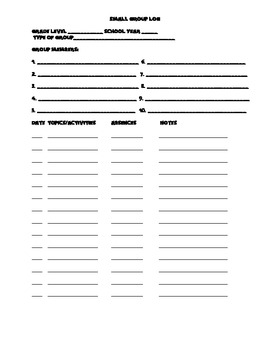 School Counseling Forms