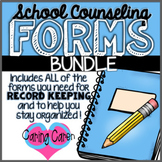 School Counseling Forms Bundle