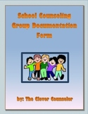 School Counseling Group Documentation Form