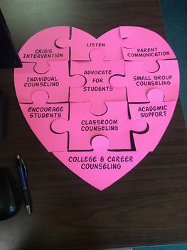 School Counseling Heart