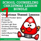 School Counseling Lessons Christmas Bundle