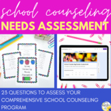 School Counseling Needs Assessment - INCLUDES DIGITAL FORM