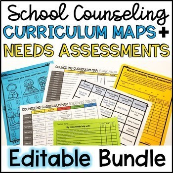 Curriculum map teaching resources teachers pay teachers school counseling needs assessments and curriculum maps editable gumiabroncs Gallery