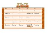 School Counseling November Lesson Plan Calendar