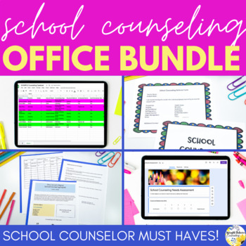 School Counseling Office Bundle