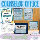 School Counseling Office Decor Bundle