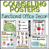 School Counseling Office Decor Posters
