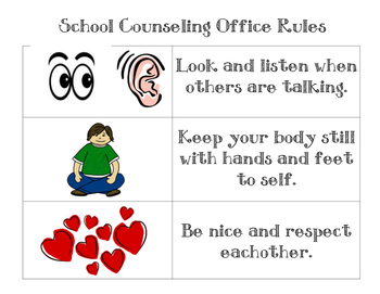 School Counseling Office Rules