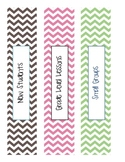 School Counseling Organization Binders-Chevron