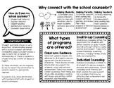 School Counseling Program Brochure