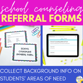 School Counseling Referral Form
