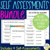 School Counseling Self-Assessments Bundle