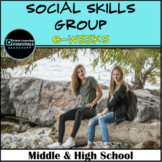 """School Counseling """"Social Skills"""" group for Middle & High"""
