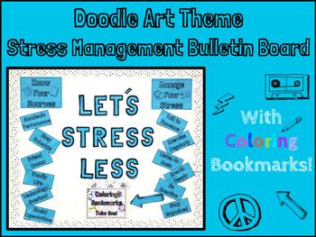 School Counseling- Stress Management Bulletin Board