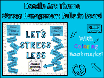 School Counseling- Stress Management Bulletin Board