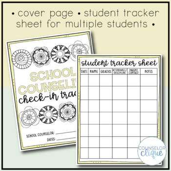 School Counseling Student Check In Tracker